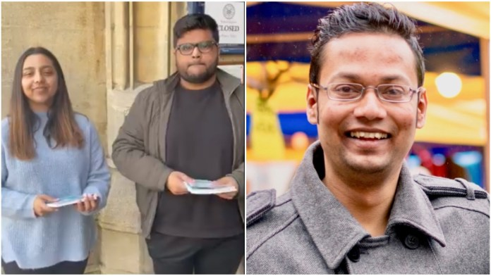 Hindu students in UK demand action against Oxford faculty member Abhijit Sarkar for his bigotry and Hinduphobia