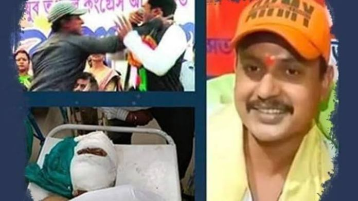 Devasish Acharya was brought tp a hospital in severely injured condition by unknown men on Thursday morning