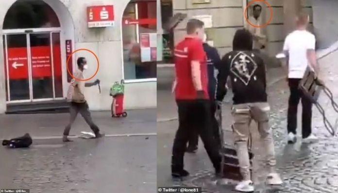Germany: Immigrant shouts 'Allah hu Akbar' before killing 3 in knife attack