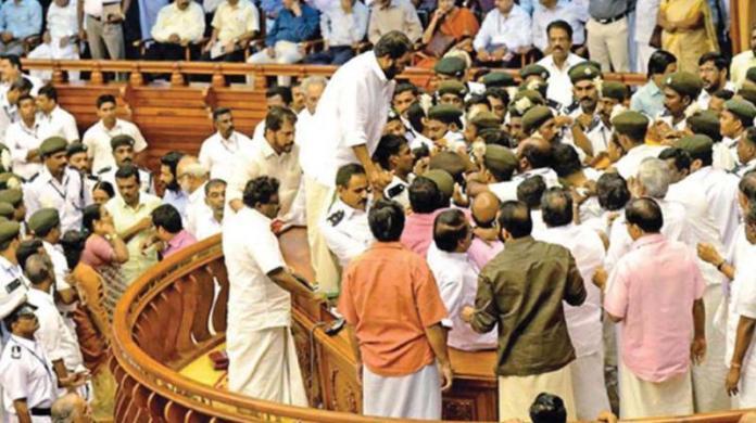 Pinarayi Vijayan government seeks parliamentary privilege for vandalism in Kerala legislative assembly