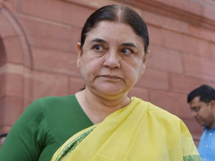 Maneka Gandhi heard threatening vets with filthy and abusive language