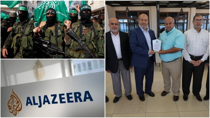 Al Jazeera gets award from Hamas