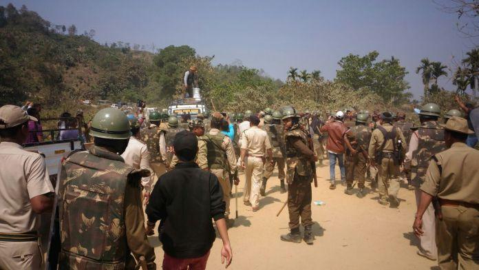 Six Assam police personnel die in firing over Assam-Mizoram border conflict