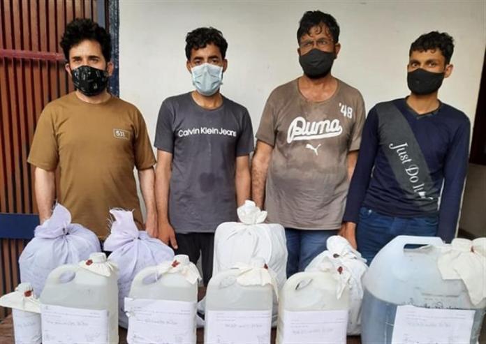Delhi: Heroin manufacturing unit busted in Delhi's Sainik Farms