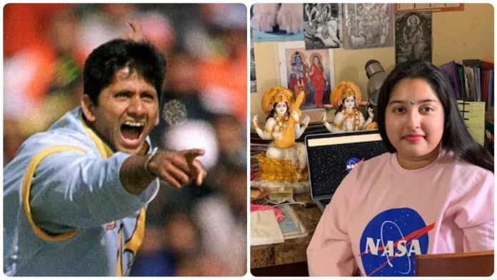 Venkatesh Prasad calls out Ambedkar Twitter handle for its blatant Hinduphobic remark on a picture of NASA intern with Hindu Gods and Goddesses on her table