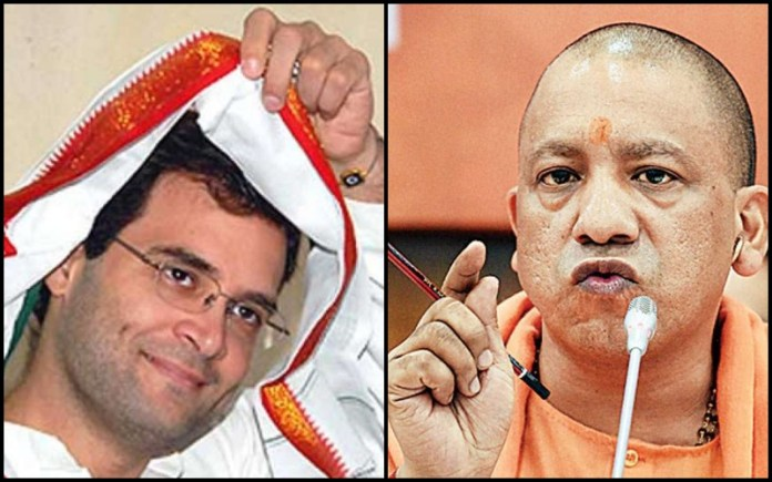 Harassment of SP worker: Rahul Gandhi wakes up to target Yogi Adityanath a day after 1 independent candidate supporter was arrested, cops suspended