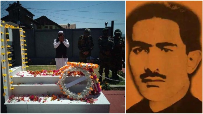 Indian Army renovates the grave of martyr maqbool Sherwani, pays respect to the brave man