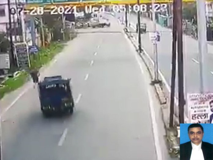 CCT footage of Judge's 'road accident' raises suspicion of Intentional hit and run