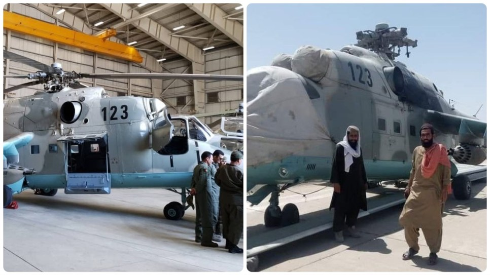 Taliban seize Mi-24 helicopter gifted by India to Afghan army – Kashmir  Media Service