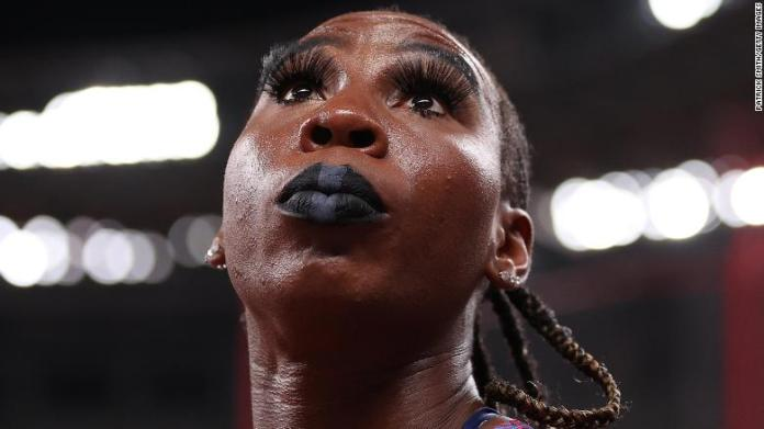American athlete Gwen Berry loses in hammer throwing competition at Tokyo Olympics