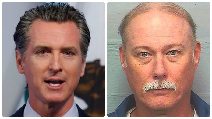 California Governor Gavin Newsom allows parole for a convicted murder who buried alive a disabled man