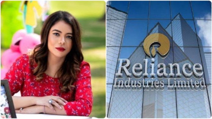 Rohini Singh's tweet against Reliance attracts Islamist attack against the business conglomerate