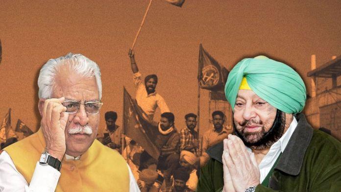 ML Khattar hits back at Amarinder Singh over 'anti-farmer' remarks