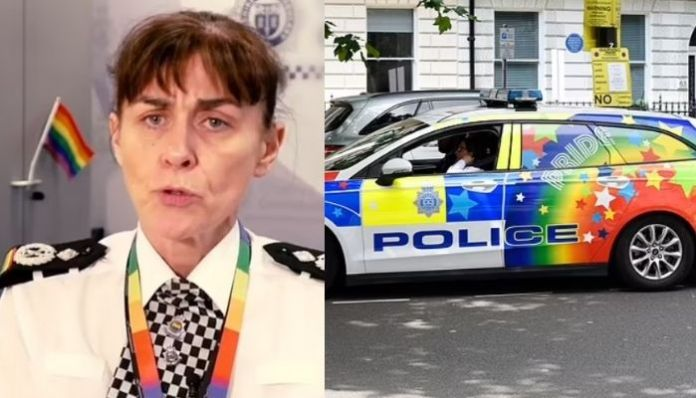 UK police to paint patrol cars in rainbow colours to fight hate crime against LGBT