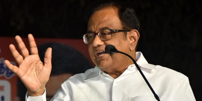 P Chidambaram of Congress opposes August 14 as Partition Horrors Remembrance Day fearing it will hurt Pakistan sentiments