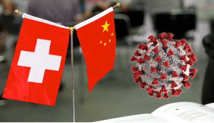 Switzerland's embassy at Beijing has asked Chinese media outlets to take down articles quoting fake scientist
