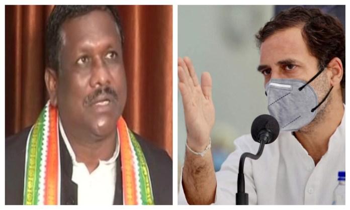 Chhattisgarh Congress MLA uses derogatory remarks against tribals, calls a journalist 'Anguthachhaap Adivasi'