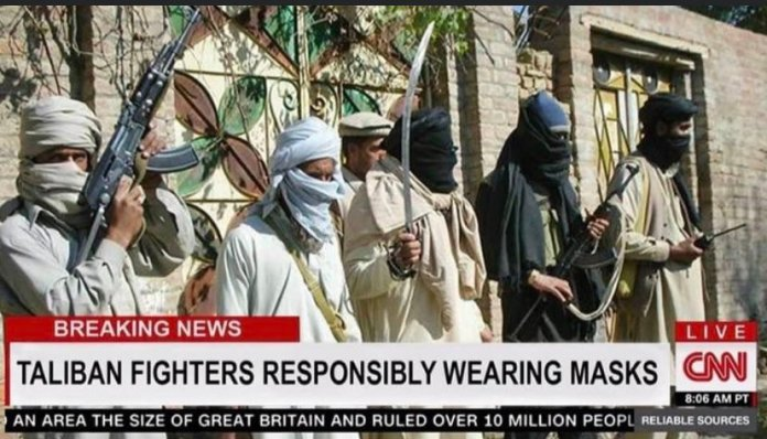 Did CNN praise Taliban for wearing masks during attacks in Afghanistan? Fact Check