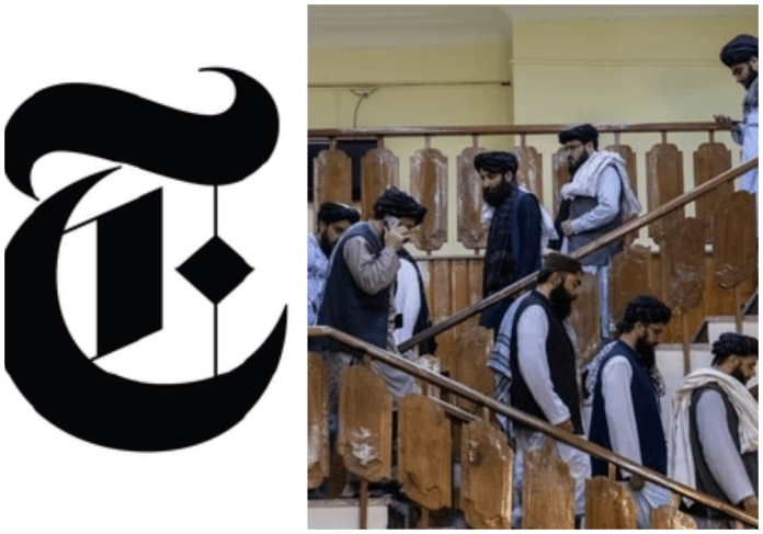 New York Times calls Taliban cabinet members as 'stalwarts'(Image Courtesy