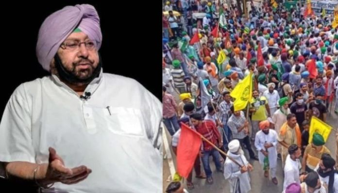 Punjab CM instigates farmers to go and protest in Delhi, says protests in Punjab are not in State's interest
