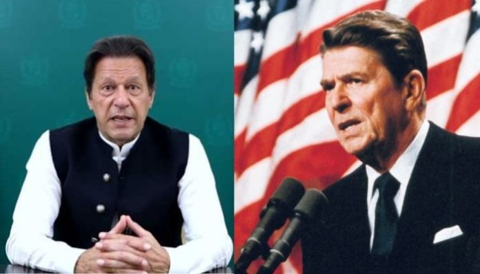 Pakistan PM Imran Khan lies at the United Nations, falsely claims that former US President Ronald Reagan called Talibs equal to founding members