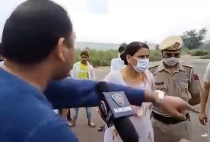 Gurugram residents raised their objection to public offering of namaz