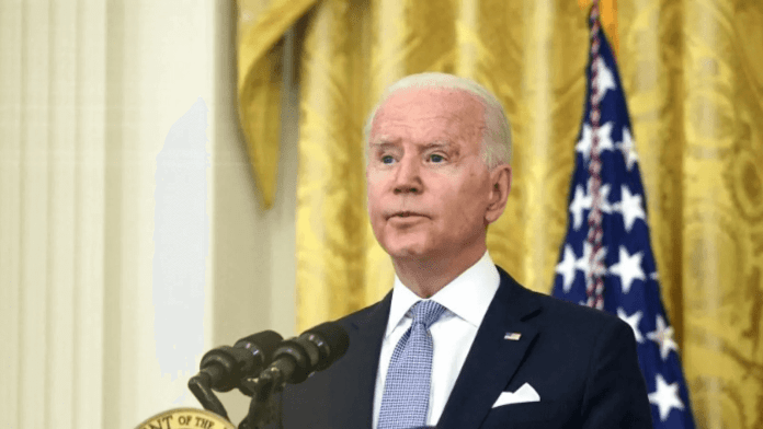 F*ck Joe Biden chants heard during college football games as president's approval ratings decline massively