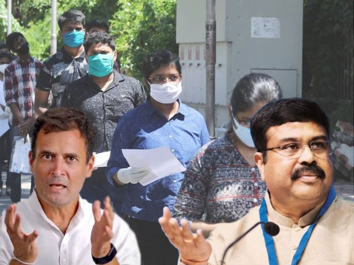 Dharmendra Pradhan gives befitting reply to Rahul Gandhi over NEET
