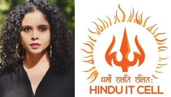 Who are the 'Hindu IT Cell' against whom Rana Ayyub and her American friends are losing cool