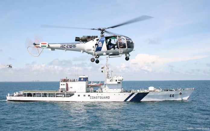 Indian Coast Guard rescues 7 fishermen off Diu