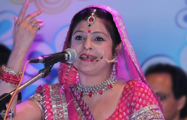 Malini Awasthi was stopped from singing a religious hymn on Doordarshan because it referred to Lord Rama's birth in Ayodhya