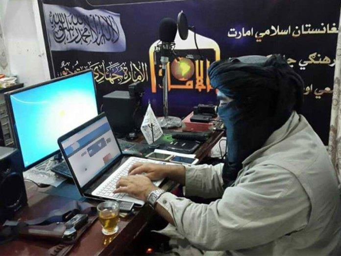 Taliban on computer