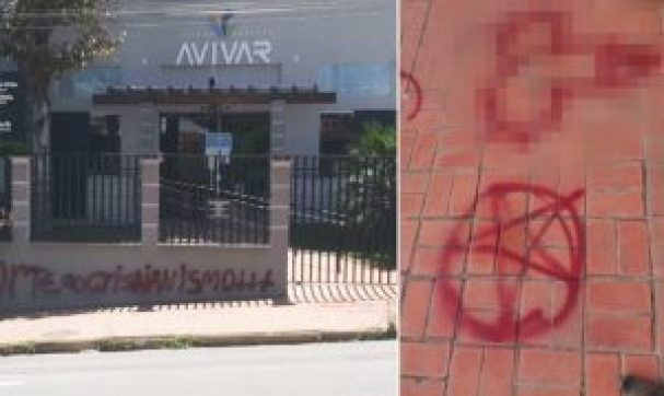 """Vândalos atacam igreja em Minas Gerais com pedido de """"morte ao cristianismo"""""""