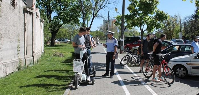 produse calde Cel mai bun cea mai buna alegere Biciclistii din Timisoara, interzisi pe trotuare. Ce patesc pietonii