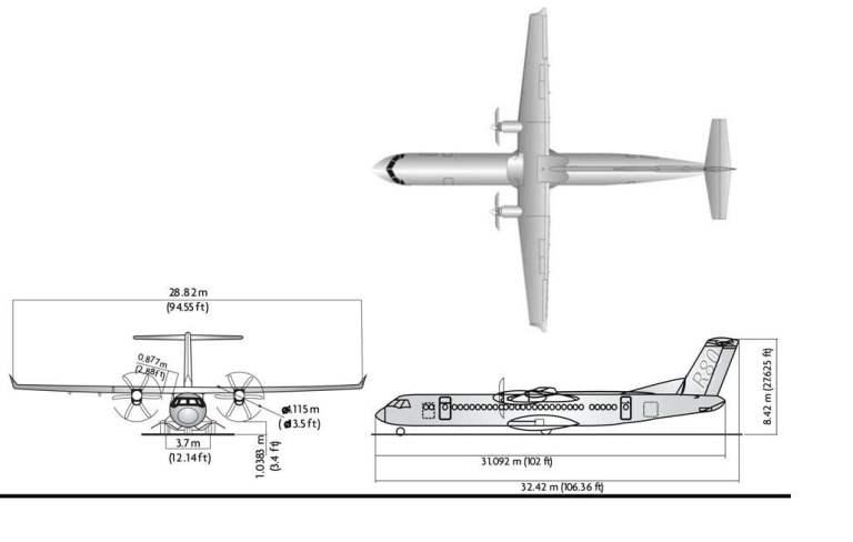 Pesawat R80 si Burung Besi Karya Habibie
