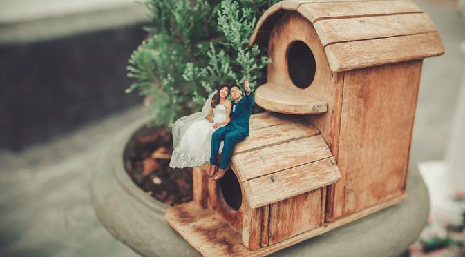 Foto Pre Wedding Kurcaci