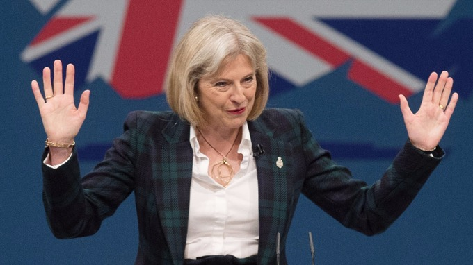 Theresa May a Firenze sulla Brexit: