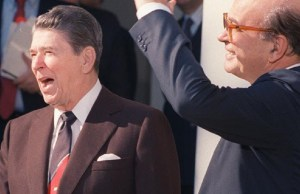 Ronald Reagan, Bettino Craxi
