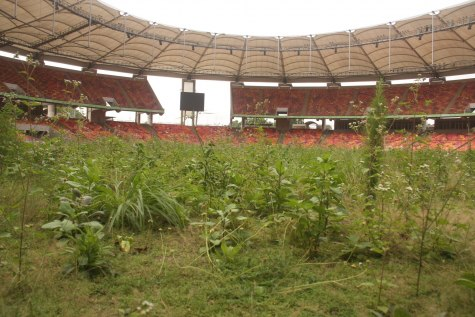 Image result for poor state of Abuja Stadium