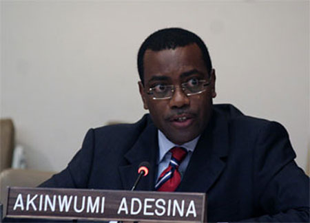 Minister of Agriculture, Dr. Akinwunmi Adesina.