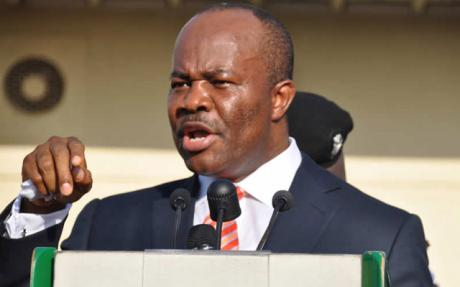 Meet Gov. Godswill Akpabio, the election rigger of all time.