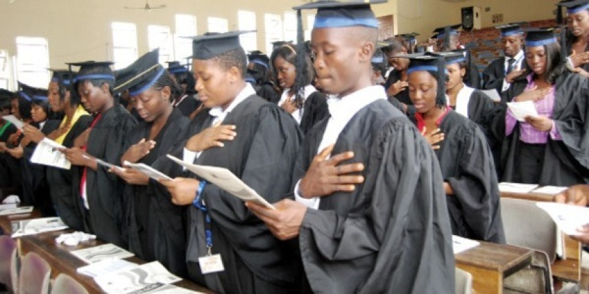 PROF. AJIKE  WARNS  GRADUATES – WITH THIS RECESSION, YOU CANNOT SURVIVE IN NIGERIA WITH EDUCATION ALONE