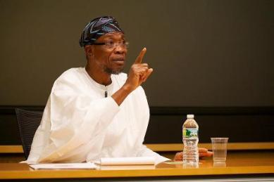 Governor Ogbeni Aregbesola of Osun State