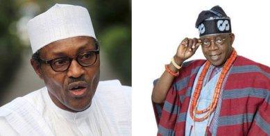 President Buhari and Bola Tinubu