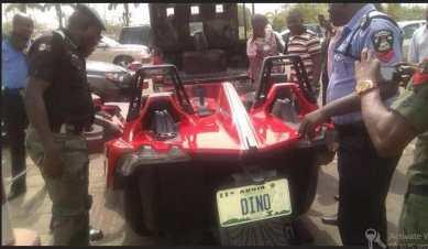 Dino Melaye Slingshot car