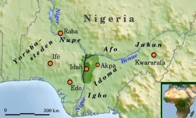 Igala map and people