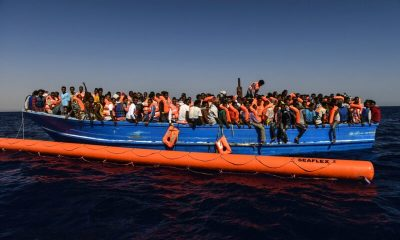 Search and rescue staff and medics jointly run by SOS Mediterranee and Doctors Without Borders