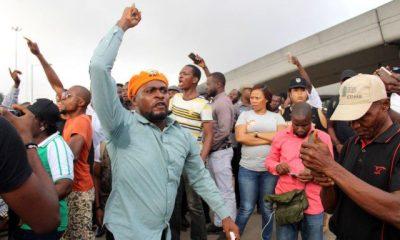 RevolutionNow protesters in Lagos 6 e1565026491818