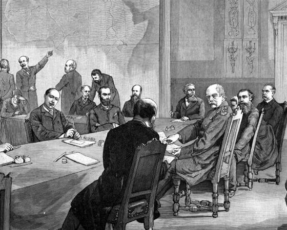 The conference of Berlin as illustrated in Illustrierte Zeitung