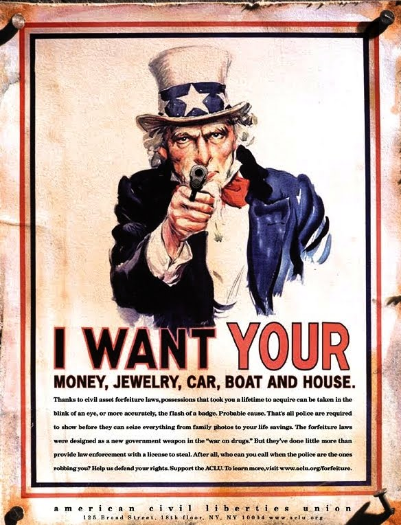 Civil Property Forfeiture in the United States – An Unconstitutional Approach that Must End